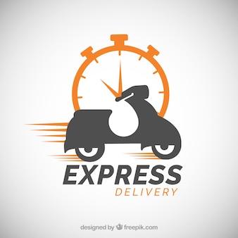 Szablon logo dostawy