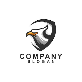 Szablon logo eagle