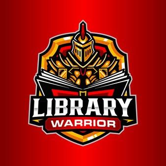 Szablon logo edukacji rycerza