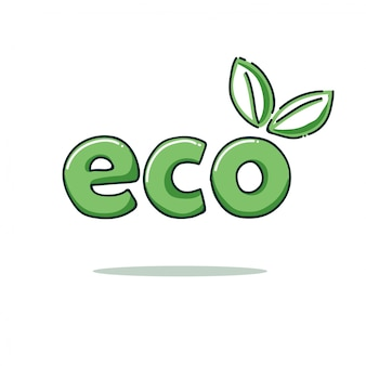 Szablon logo eko