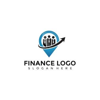 Szablon logo finance