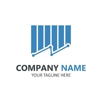 Szablon logo finansów