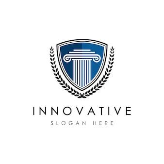 Szablon logo firmy prawniczej