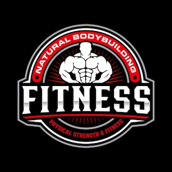 Szablon logo fitness
