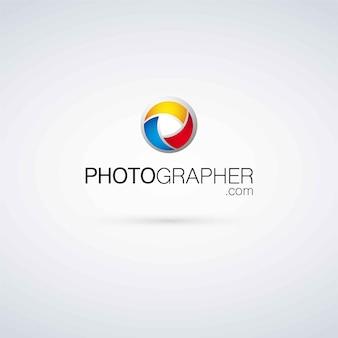 Szablon logo fotografa