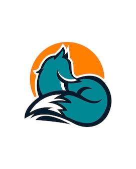 Szablon logo fox