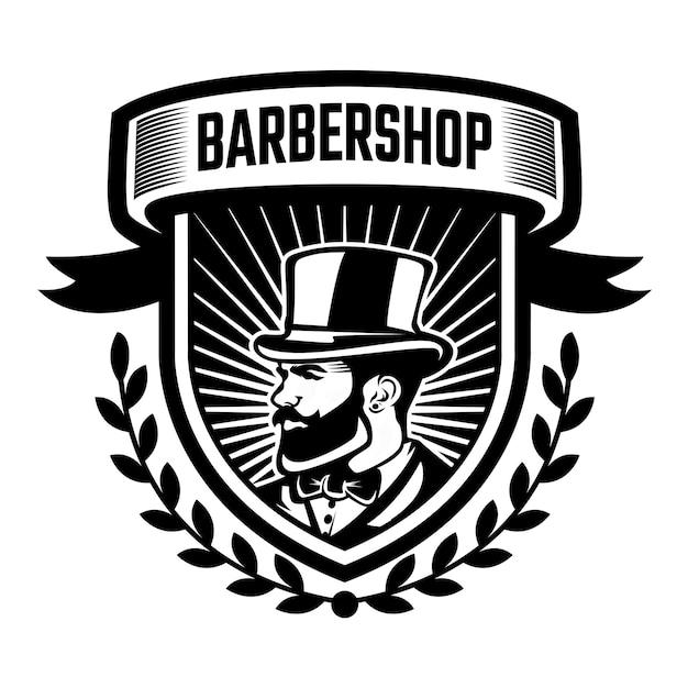 Szablon logo fryzjera