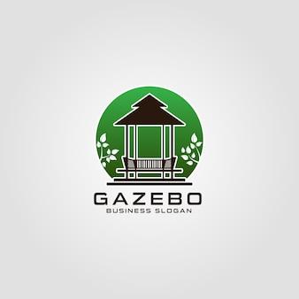 Szablon logo gazebo
