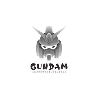 Szablon logo gundam