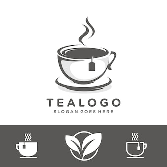 Szablon logo herbaty