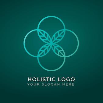 Szablon logo holistycznej koncepcji