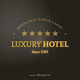 Szablon logo hotelu