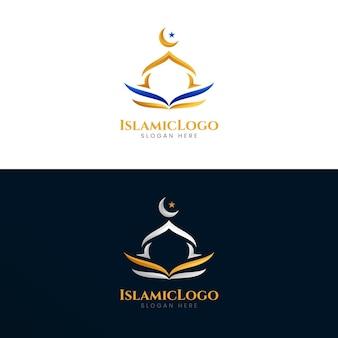 Szablon logo islamskiego