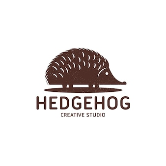 Szablon logo jeż
