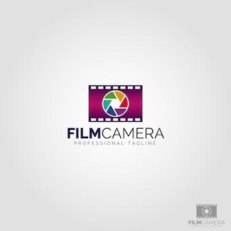 Szablon logo kamery filmowej