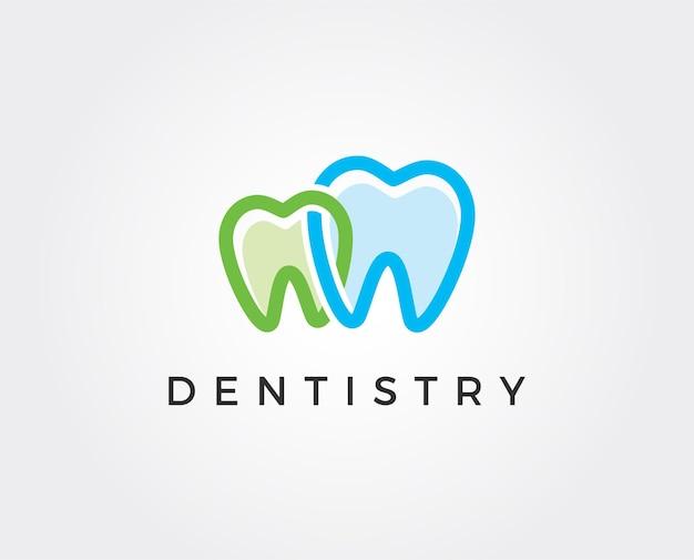 Szablon logo kliniki dentystycznej