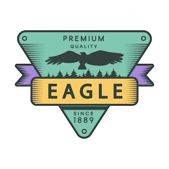 Szablon logo kolor park rekreacyjny