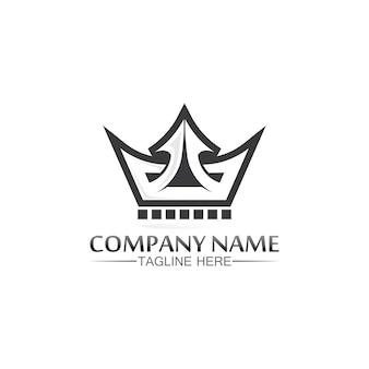 Szablon logo korony