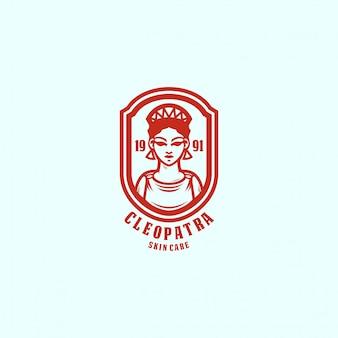 Szablon logo królowej