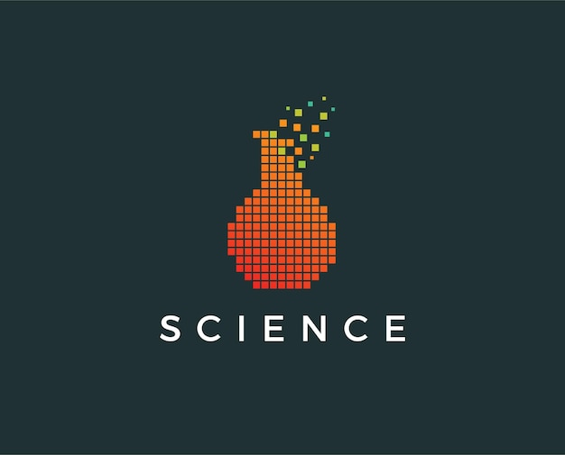 Szablon logo laboratorium naukowego