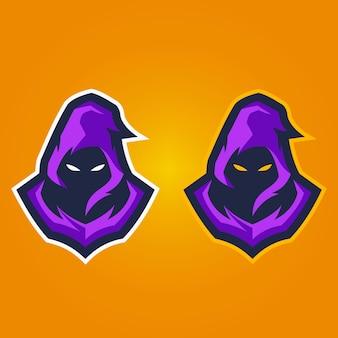 Szablon logo maskotka lew