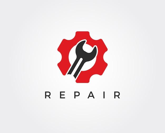Szablon logo minimalnej naprawy