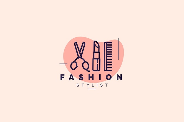 Szablon logo mody