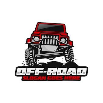 Szablon logo off road