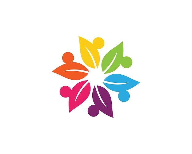 Szablon logo opieki społecznej