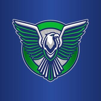 Szablon logo orła