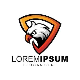 Szablon logo orzeł