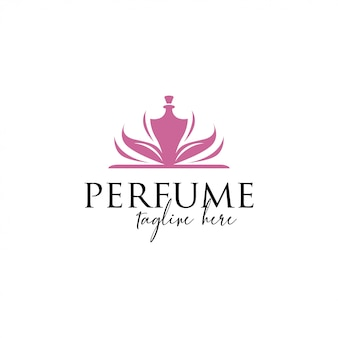 Szablon logo perfum