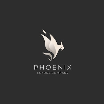 Szablon logo phoenix