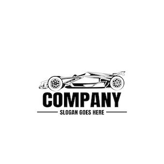 Szablon logo pojazdu. ikona samochodu do projektowania biznesowego.