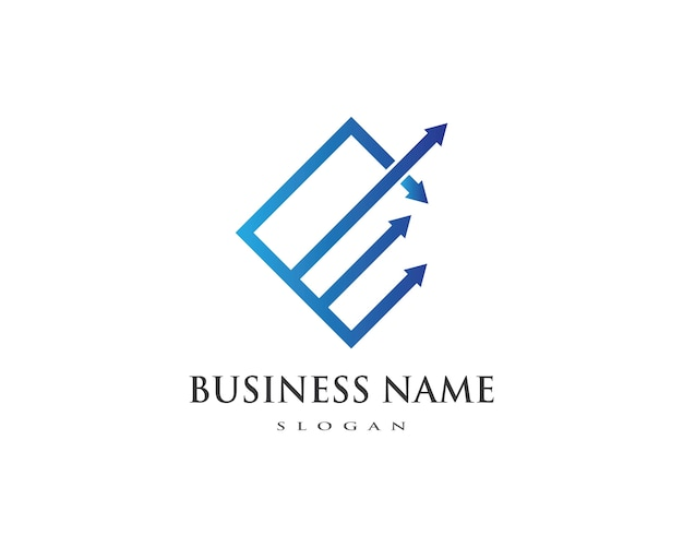 Szablon logo profesjonalne finanse firmy