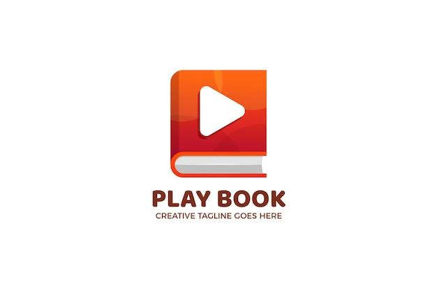 Szablon logo przycisku book and play