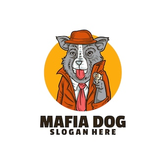Szablon logo psa mafii