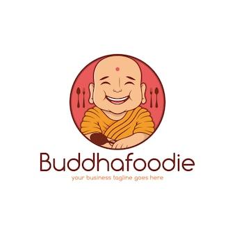 Szablon logo restauracji indyjskiej żywności