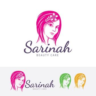 Szablon logo salonu piękności
