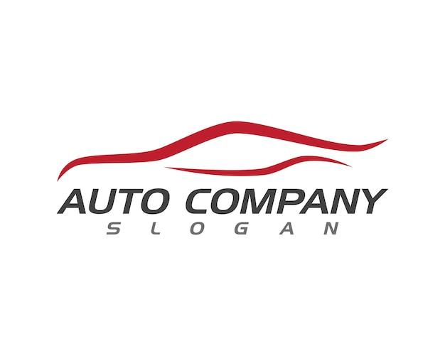 Szablon logo samochodu auto
