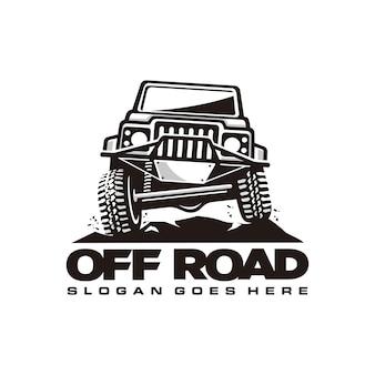 Szablon logo samochodu drogowego