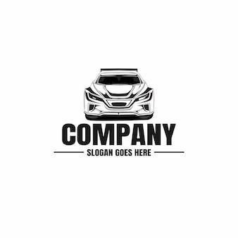 Szablon logo samochodu samochodowego