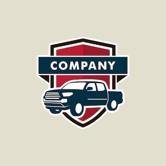 Szablon logo samochodu