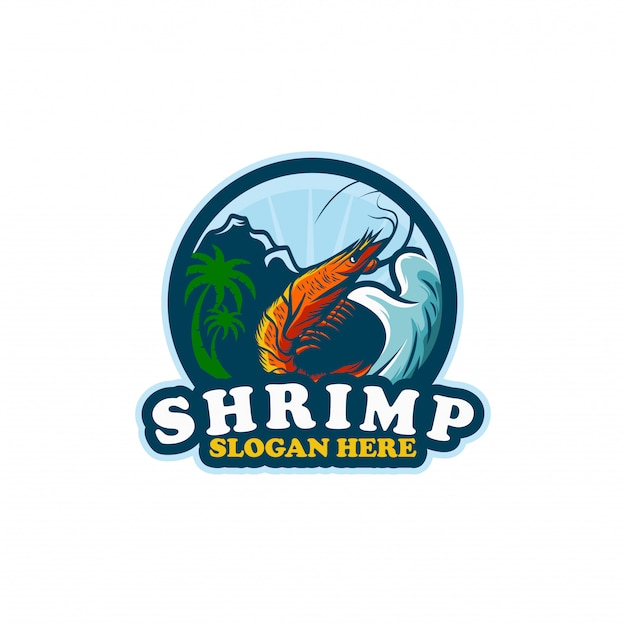Szablon logo shirmp