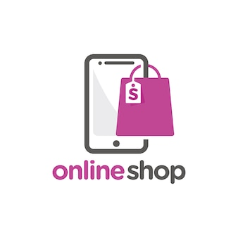Szablon logo sklepu internetowego