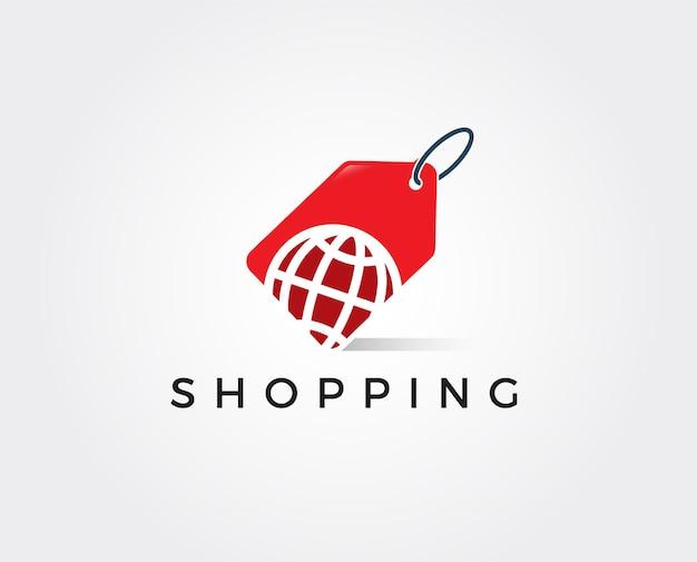 Szablon logo sklepu z pamiątkami