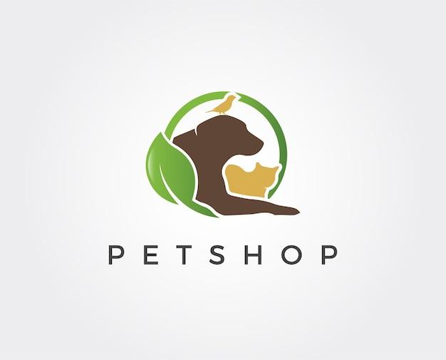 Szablon logo sklepu zoologicznego