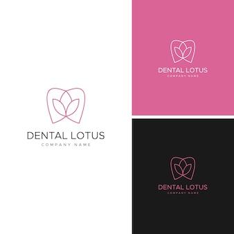 Szablon logo stomatologiczne
