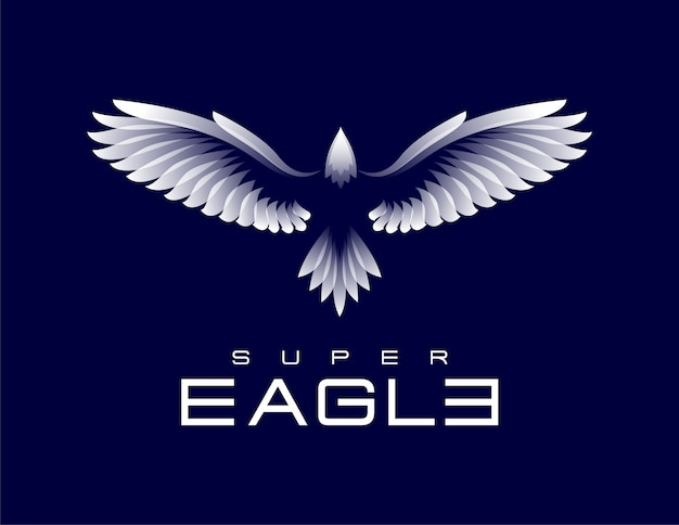 Szablon logo super eagle