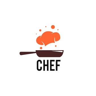 Szablon logo szefa kuchni